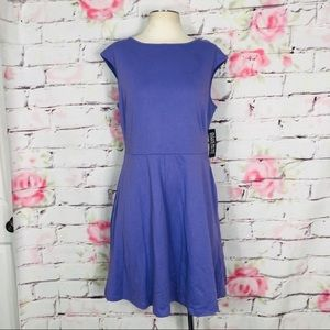 New York & company purple jersey knit sundress